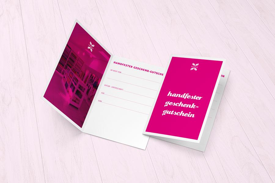 handfester Geschenkgutschein für alle netten Menschen und zu jeder Gelegenheit